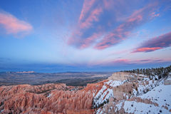 Winter, Bryce Canyon Royalty Free Stock Photos
