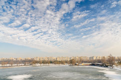 Winter In Bucharest Stock Photography