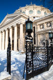 Winter in Bucharest - Concert Hall Stock Photos
