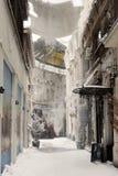 Winter in Bucharest stock image