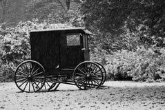 Winter-Buggy Stockbild