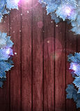 Winter business or invitation background Stock Photography