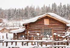 Free Winter Cabin Royalty Free Stock Images - 17998669