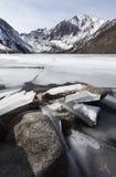 Winter in California Mountains Stock Photos