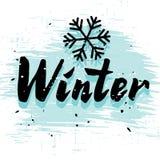 calligraphy winter font stock illustration image 63080948. Black Bedroom Furniture Sets. Home Design Ideas