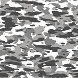 Winter camouflage pattern. Seamless texture illustration royalty free illustration