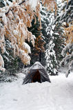 Winter camp Royalty Free Stock Photography