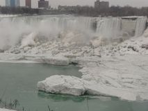 Niagara Falls Ontario Canada in the Winter royalty free stock photos