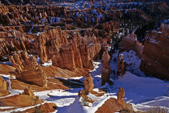 Winter in the Canyon Royalty Free Stock Photo