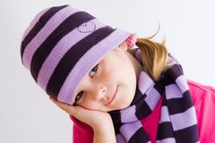 Winter cap royalty free stock photos