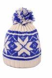 Winter cap. On whaite background Stock Photo
