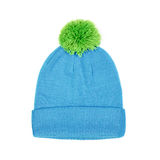 Winter cap isolated on white Stock Photos