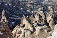 Winter in Cappadocia Stockfotos