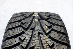 Free Winter Car Tire Stock Photography - 30926382