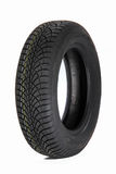 Winter car tire Stock Photography