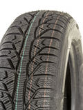 Winter car tire Royalty Free Stock Photography