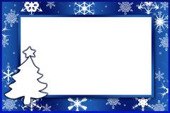 Winter card. For any use Royalty Free Stock Image