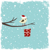 Winter card Royalty Free Stock Photo