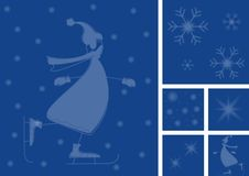 Winter card Stock Images
