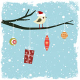 Winter card Royalty Free Stock Photos
