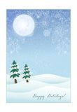 Winter Card Royalty Free Stock Images