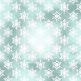Winter card with snowflakes on a Christmas background Royalty Free Stock Photos
