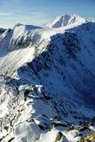 Winter in Carpathian Stock Image