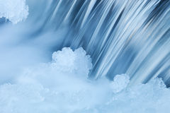 Winter Cascade Royalty Free Stock Photo