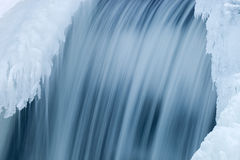 Winter Cascade Royalty Free Stock Images