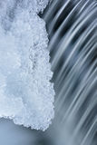 Winter Cascade and Ice Royalty Free Stock Photos