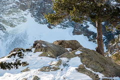 Winter in Catalonia Royalty Free Stock Image