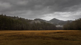 Winter in Cataloochee Valley, Great Smoky Mountains National Par Royalty Free Stock Photos