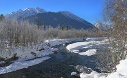 Winter in Caucasus Royalty Free Stock Photo