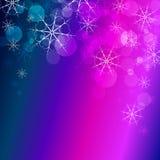 Winter celebration christmas illustration  silhouette tree Stock Photography