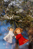 Winter celebrations beautiful background Stock Photos
