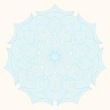 Winter celtic knot pattern card, mandala, amulet Stock Photo