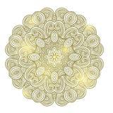 Winter celtic knot pattern card, mandala, amulet Stock Images