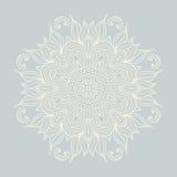 Winter celtic knot pattern card, mandala, amulet Stock Photography