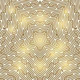 Winter celtic knot pattern card, mandala, amulet Stock Photos