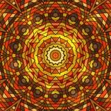 Winter celtic knot pattern card, mandala, amulet Royalty Free Stock Image