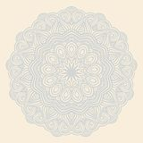 Winter celtic knot pattern card, mandala, amulet Stock Photography