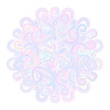 Winter celtic knot pattern card, mandala, amulet Stock Photos