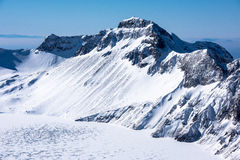 The winter of the changbai mountain Royalty Free Stock Images