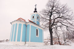 Winter Chapel Royalty Free Stock Photos
