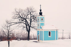 Winter Chapel Royalty Free Stock Photo