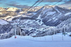 Winter Chatel stock images