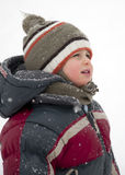 Winter child Stock Photos