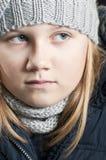 Winter child Stock Image