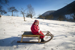 Winter child Stock Photo