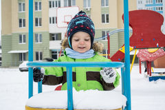 Winter, child Royalty Free Stock Photos